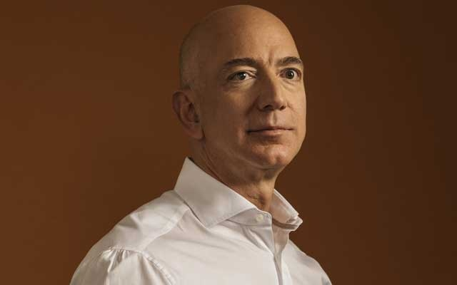 File photo of Jeff Bezos, the founder of Amazon and owner of the Washington Post, in Seattle, Aug 25, 2017. (Kyle Johnson/The New York Times)