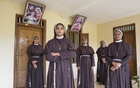 Nuns at a convent in Southern India who are supporting a fellow nun who says she was raped by Bishop Franco Mulakkal, in the southern state of Kerala, India, Feb 8, 2019. The New York Times