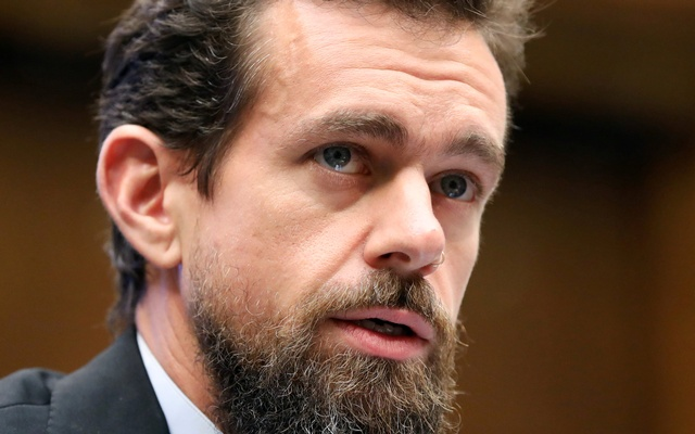 Twitter CEO Jack Dorsey testifies before the House Energy and Commerce Committee hearing on Twitter's algorithms and content monitoring on Capitol Hill in Washington, US, Sept 5, 2018. REUTERS