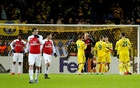 Arsenal lose at BATE as Inter, Sevilla and Benfica win in Europa League