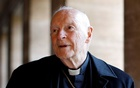 Cardinal Theodore Edgar McCarrick during an interview with Reuters at the North American College at the Vatican Feb 14, 2013. REUTERS