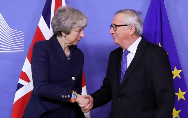 UK PM May to hold Brexit talks with EU's Juncker