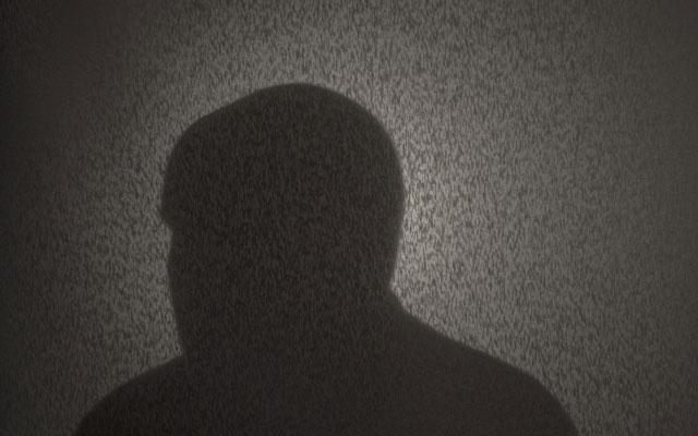 A silhouette of one of the two dozen gay Roman Catholic priests and seminarians who spoke with The New York Times, Jan 2019. The New York Times