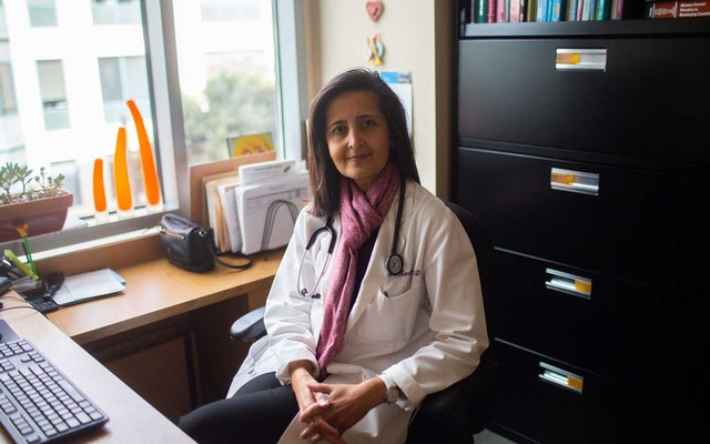 Dr Alka Kanaya, a professor of medicine at the University of California, San Francisco, Feb 6, 2019. Heart disease is the leading killer of adults nationwide, and South Asians, the second fastest-growing ethnic group in America, have a higher death rate from the disease than any other ethnic group. (Katrina Britney Davis/The New York Times)