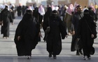 FILE PHOTO: Saudi women arrive to attend Janadriyah Culture Festival on the outskirts of Riyadh, Saudi Arabia Feb 8, 2016. REUTERS