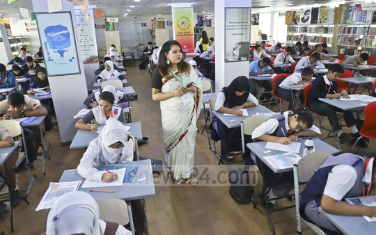 International Hope School Bangladesh organises the eighth Bangla Olympiad, an inter-school cultural competition, on Saturday to commemorate February 21, International Mother Language Day.