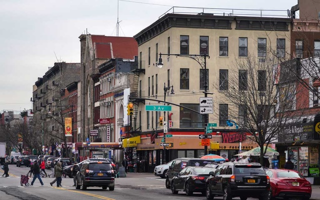 200 East 116th St, in Harlem, where apartments were illegally offered through Airbnb, city officials said, on Jan 28, 2019. Multiple misleading identities, more than 100 host accounts and 18 corporations were created to run an illegal hotel business in Manhattan, according to a lawsuit filed by the city. Chang W Lee/The New York Times