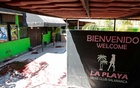 A general view shows the site of a crime scene at La Playa Men's Club where at least 13 people were killed and another seven wounded in a shooting at a bar early on Saturday in the city of Salamanca, Mexico Mar 9, 2019. REUTERS