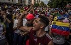 Supporters of the opposition leader Juan Guaidó gather in Caracas, Venezuela, Mar 9, 2019. The New York Times