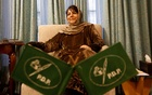 Former Jammu and Kashmir Chief Minister Mehbooba Mufti speaks during an interview with Reuters at her residence in Srinagar Mar 8, 2019. REUTERS