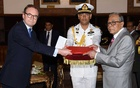 New British High Commissioner Dickson to work on a 'long list of things' with Bangladesh