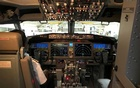 The cockpit of Jet Airways Boeing 737 MAX 8 aircarft is pictured during its induction ceremony at the Chhatrapati Shivaji International airport in Mumbai, India, June 28, 2018. Reuters