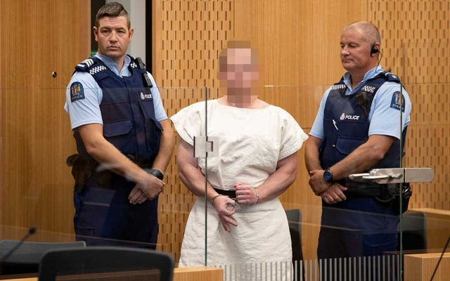 Man charged with murder after New Zealand mosque shootings