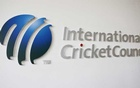 The International Cricket Council (ICC) logo at the ICC headquarters in Dubai, Oct 31, 2010. REUTERS