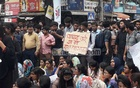 Protests stall traffic after student's death in Dhaka road crash