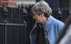 Britain's Prime Minister Theresa May is seen at Downing Street, in London. REUTERS.
