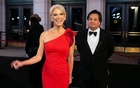 File Photo: White House Counselor Kellyanne Conway and her husband George Conway arrive for a candlelight dinner at Union Station on the eve of the 58th Presidential Inauguration in Washington, US, January 19, 2017. Reuters