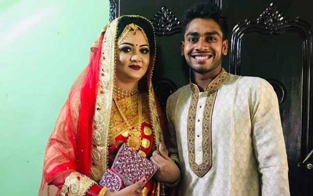 Bangladesh all-rounder Miraz ties the knot after five-year romance