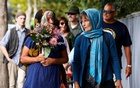 People attend a vigil for victims of the mosque shootings in Christchurch, New Zealand March 24, 2019. Reuters