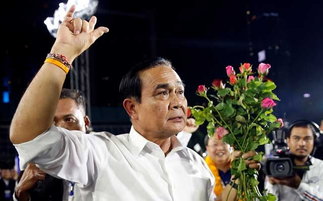 Thailand votes in face-off between 2014 coup leader and