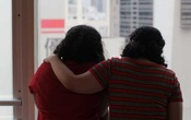 Sisters from Saudi Arabia, who go by aliases Reem and Rawan, are pictured in Hong Kong, China March 20, 2019. Reuters