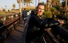 FILE PHOTO: Uri Geller poses for a photograph in Jaffa, next to Tel Aviv, Israel January 23, 2017. Reuters