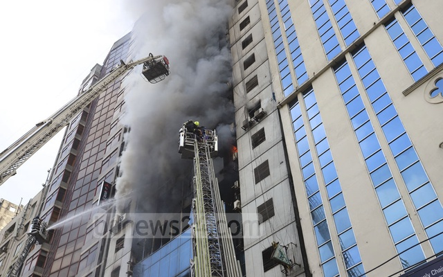 Death toll from Dhaka tower fire jumps to 17
