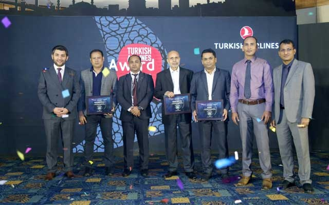 Turkish Airlines awards travel, cargo agents in Dhaka