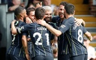 Man City go top again with 2-0 win over misfiring Fulham