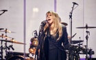 Stevie Nicks performs during the 34th annual Rock & Roll Hall of Fame induction ceremony at Barclays Center in New York, March 30, 2019. Nicks is the first woman to be inducted twice -- she was already in as a member of Fleetwood Mac. (Chad Batka/The New York Times)