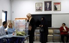 Turkey local election: People attend voting at a polling station during the municipal elections in Ankara, Turkey, Mar 31, 2019. REUTERS/Umit Bektas