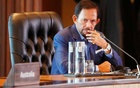 Brunei's Sultan Hassanal Bolkiah attends the retreat session during the APEC Summit in Port Moresby, Papua New Guinea on Nov 18, 2018. REUTERS