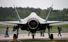 A Lockheed Martin F-35 aircraft is seen at the ILA Air Show in Berlin, Germany, Apr 25, 2018. REUTERS