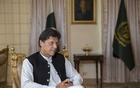 "Prime Minister Imran Khan of Pakistan at his residence in Islamabad, Pakistan, April 9, 2019. Khan, praised for his statesmanlike handling of a recent standoff with India, said Pakistan can't allow armed militias to operate any longer. ""There is no use for these groups anymore,"