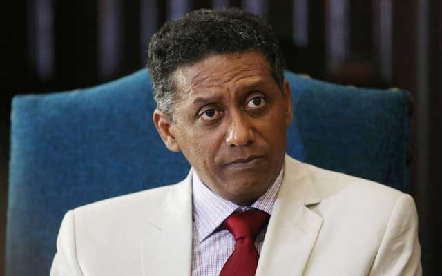 File Photo: Seychelles President Danny Faure. Reuters