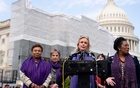Rep Debbie Dingell (D-Mich) speaks about the reauthorisation of the Violence Against Women Act on Capitol Hill, in Washington, Apr 4, 2019. The New York Times