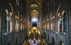 The interior of Notre Dame Cathedral in Paris, Sep 19, 2017. The cathedral was scarred by an extensive fire on Apr 15, 2019, that collapsed part of its delicate spire. The New York Times
