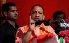 Yogi Adityanath, Chief Minister of Uttar Pradesh, addresses the audience after inaugurating power projects in Allahabad, Jun 4, 2017. REUTERS