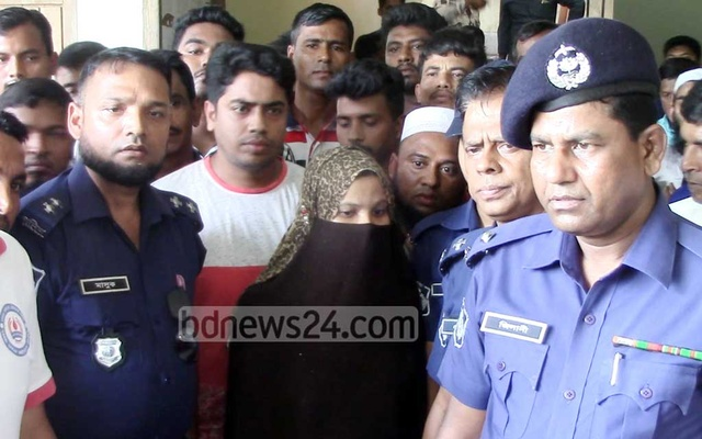 Girl in Bangladesh burned to death 'on teacher's orders'