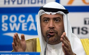 Olympic Council of Asia (OCA) President Sheikh Ahmad Al-Fahad Al-Sabah speaks at a news conference at the Main Media Centre of the 17th Asian Games in Incheon September 21, 2014. Reuters