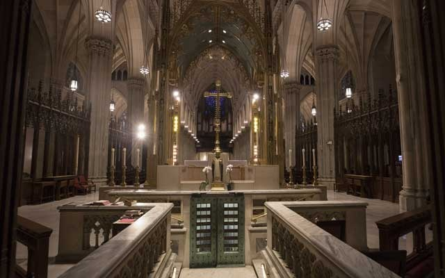 Man with two full gas cans arrested after trying to enter St Patrick's Cathedral