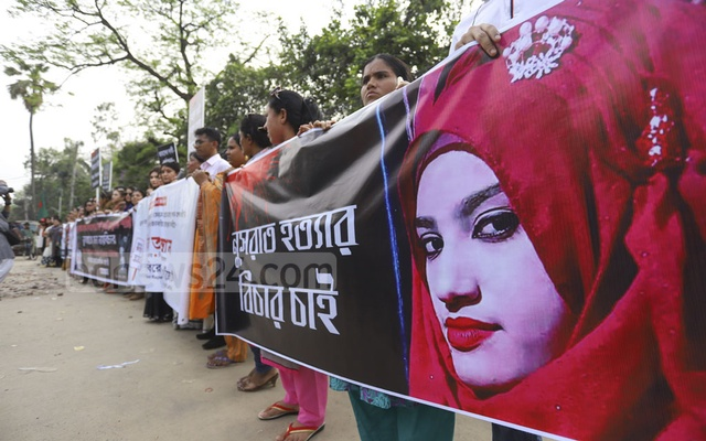 16 people sentenced to death for Bangladesh student's murder