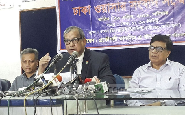 TIB report is concocted, water is 100% drinkable: Dhaka WASA