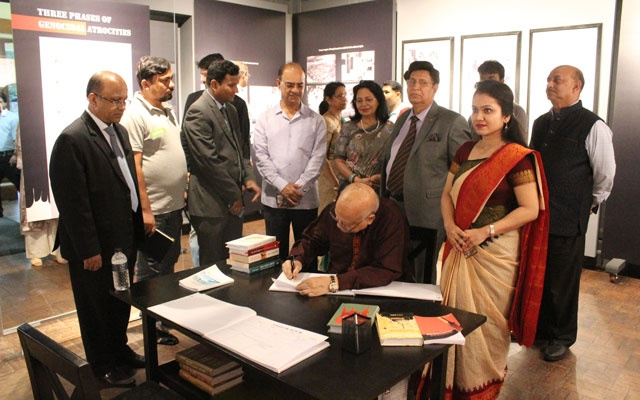 Genocide Corner at Sugondha building opened for all