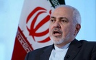 Iran's Foreign Minister Mohammad Javad Zarif sits for an interview with Reuters in New York. REUTERS