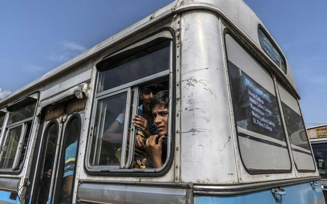 Muslims in Negombo, Sri Lanka, are relocated by bus to another town for their safety on Wednesday, Apr 24, 2019, three days after the Easter bombings. Until this week, Sri Lanka didn't have much history of Christian-Muslim violence. The New York Times