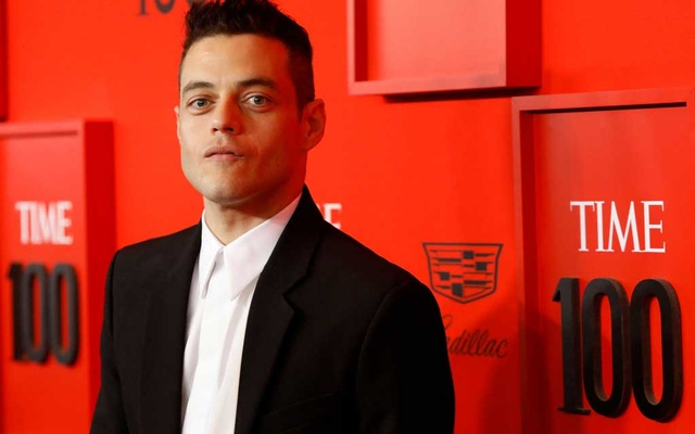 Rami Malek poses upon arriving for the Time 100 Gala celebrating Time magazine's 100 most influential people in the world in New York, US, April 23, 2019. Reuters