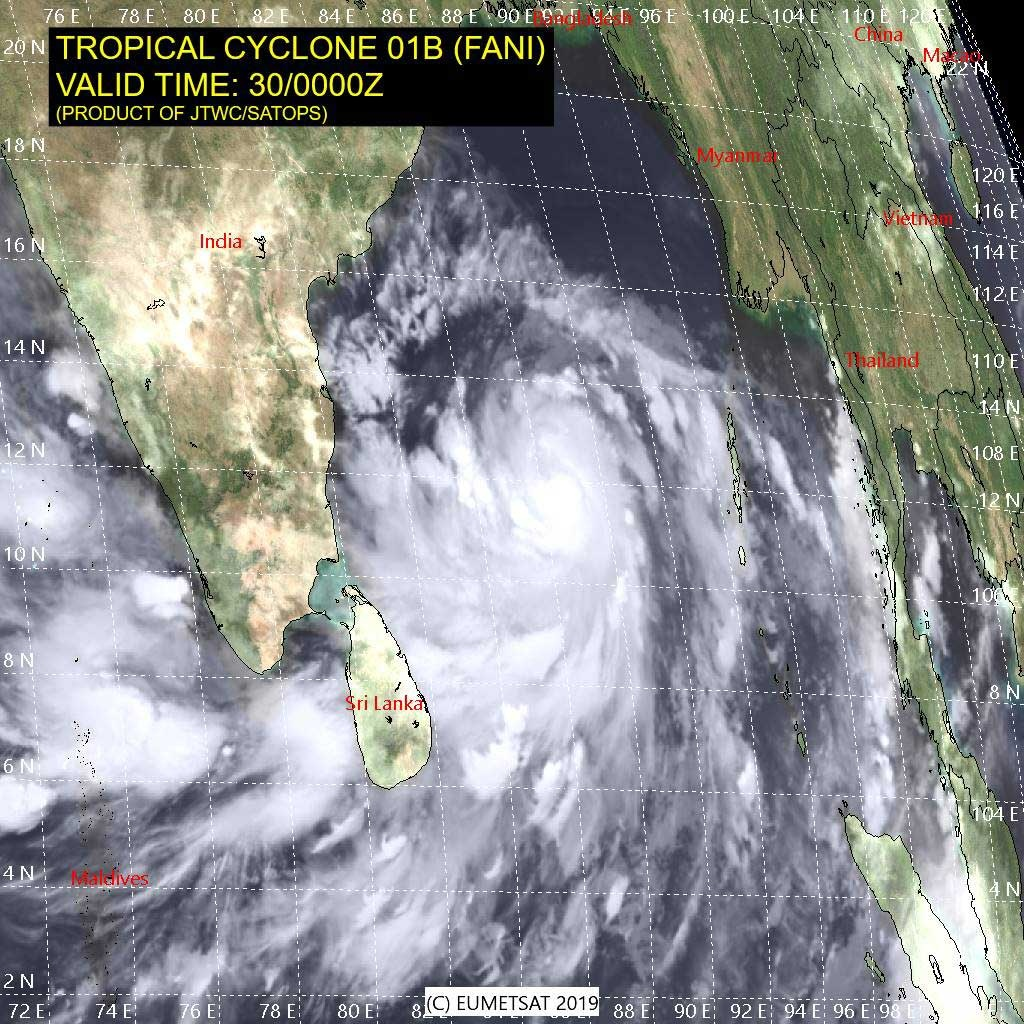 Cyclone 'Fani' Likely To Hit Odisha Harder Than 'Titli'