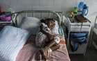 S Diduni Nihansa, who was wounded in the Easter Sunday bombing at St Sebastian's Church, in a hospital in Colombo, Sri Lanka, on Apr 29, 2019. Some children suffered terrible injuries in the bombings. But for many others, witnesses to unimaginable scenes of carnage, the wounds are psychological. The New York Times