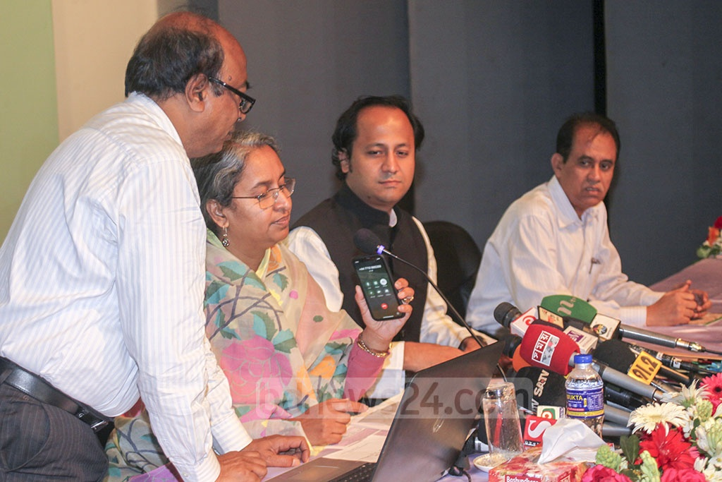 Prime Minister Sheikh Hasina joined from London the results publication event of Secondary School Certificate and equivalent exams-2019 via videoconference on Monday. Education Minister Dipu Moni was present at the event.